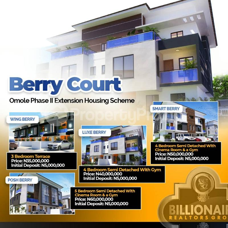 4 bedroom House for sale Omole phase 2  Omole phase 2 Ojodu Lagos - 0