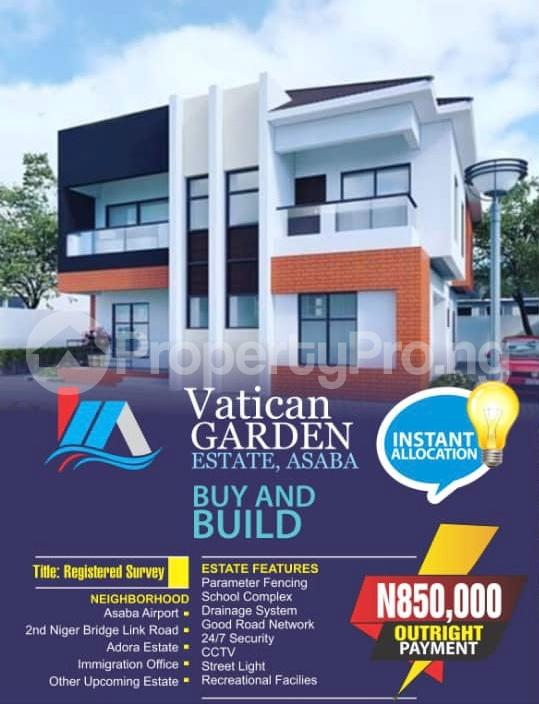 Residential Land Land for sale Behind Asaba Airport and 2nd Niger Bridge Proposed Link Road Asaba Delta - 5