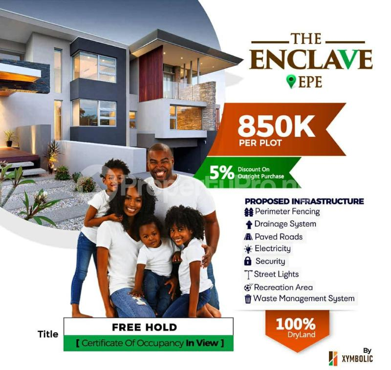 Residential Land Land for sale The Enclave Epe Road Epe Lagos - 0
