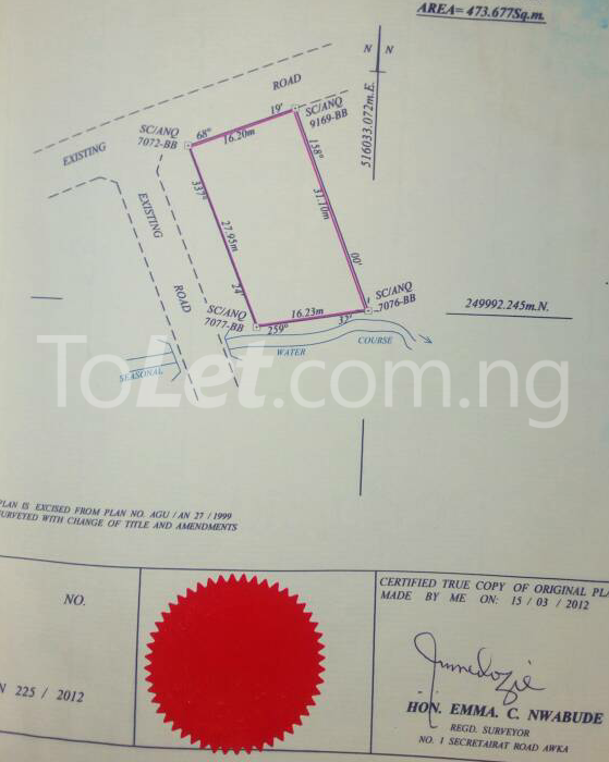 Land for sale - Awka South Anambra - 0