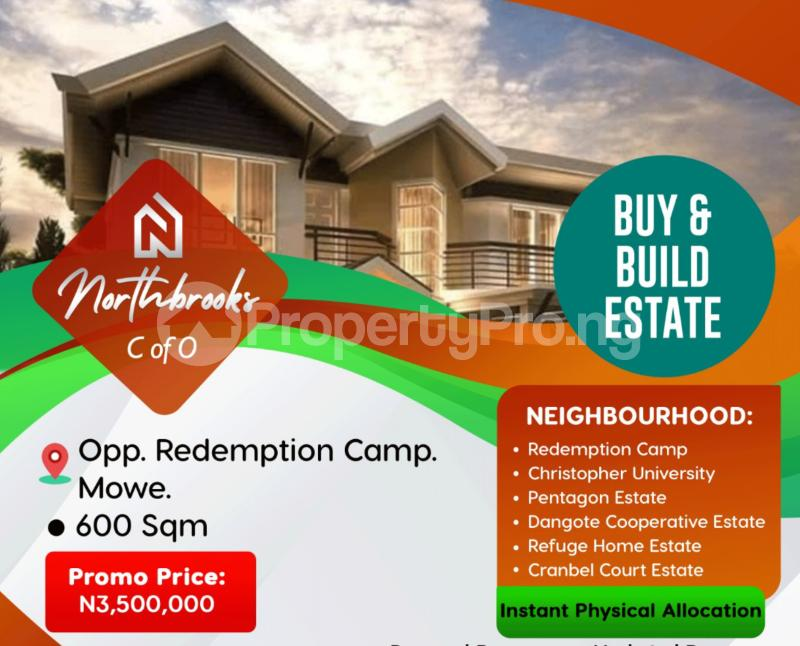 Serviced Residential Land Land for sale Opposite The RCCG Redemption Camp Mowe Obafemi Owode Ogun - 2