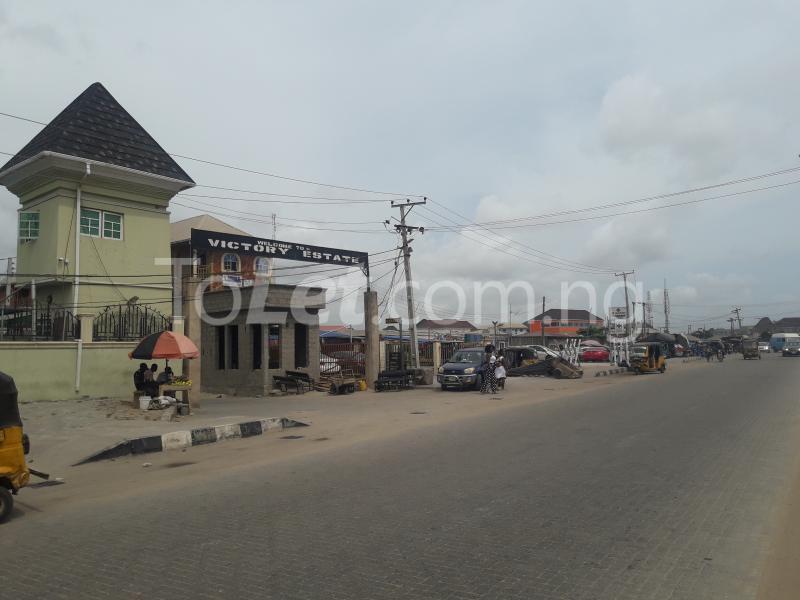 Land for sale VICTORY ESTATE  Ago palace Okota Lagos - 2