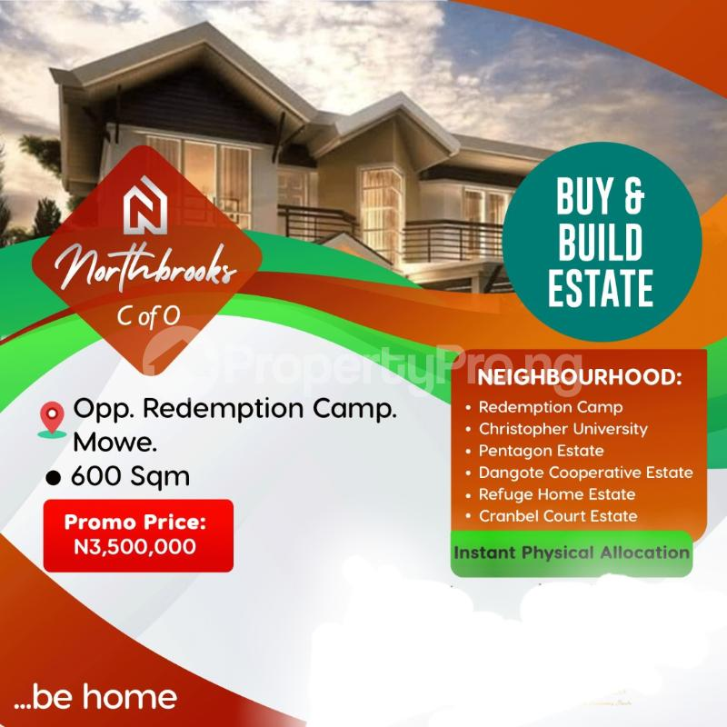 Mixed   Use Land Land for sale NorthBroorks Estate Is Located Opposite Redemption Camp Mowe Lagos Ibadan Expressway Lagos  Ojota Lagos - 6
