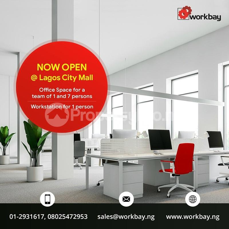 Private Office Co working space for rent  The City Mall Lagos Island Lagos Onikan Lagos Island Lagos - 0