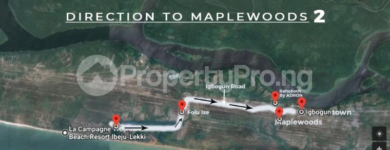 Serviced Residential Land Land for sale Igbogun Town LaCampaigne Tropicana Ibeju-Lekki Lagos - 3