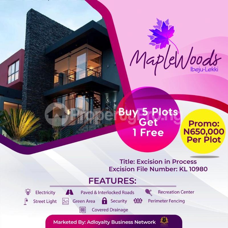 Serviced Residential Land Land for sale Igbogun Town LaCampaigne Tropicana Ibeju-Lekki Lagos - 1