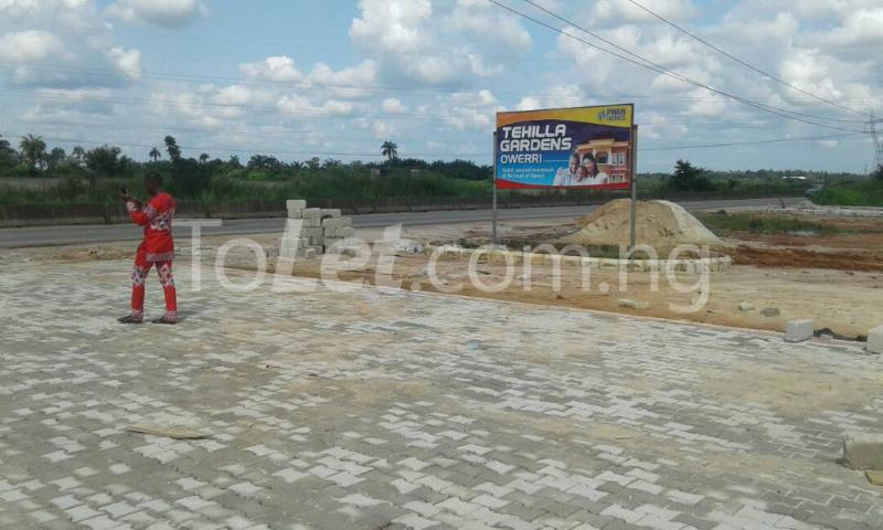 Land for sale Tehila Garden Estate is situated at Ogbaku in Owerri North LGA Imo State Owerri Imo - 1