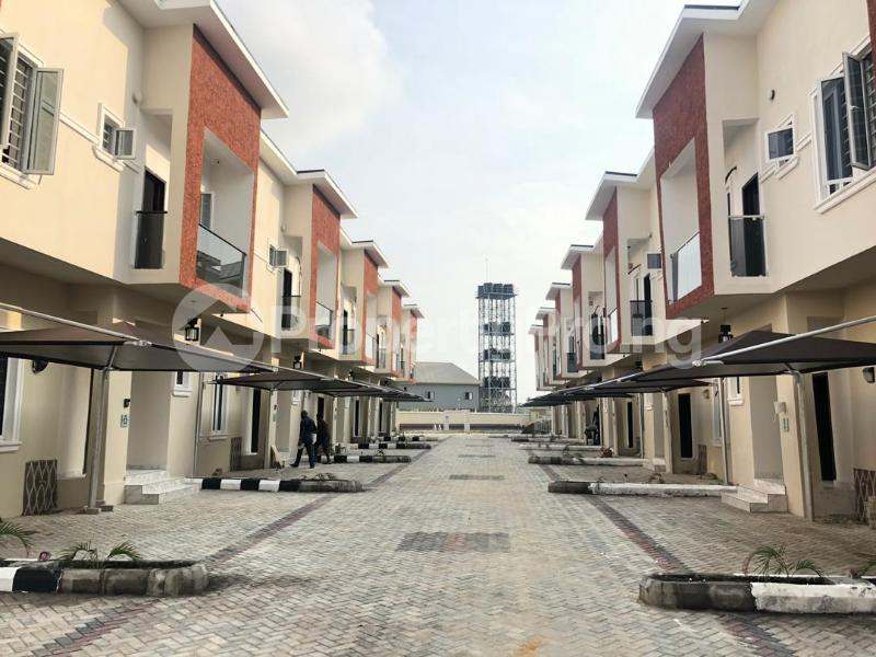 4 bedroom Terraced Duplex House for rent Cole nwafor street orchid road,  chevron Lekki Lagos - 0