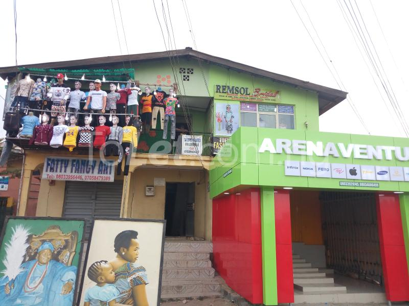 Shop Commercial Property for sale Olaiya Junction  Osogbo Osun - 0