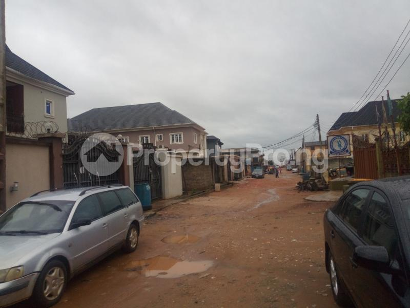1 bedroom mini flat  Semi Detached Bungalow House for sale Olowora ojodu berger Olowora Ojodu Lagos - 1