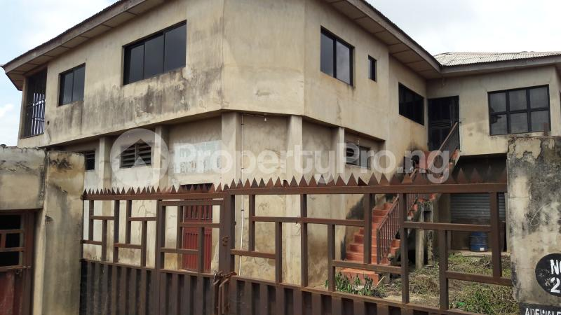 Factory Commercial Property for sale Jinarere Bus-stop, Alakia - Iyana Church Road Alakia Ibadan Oyo - 1