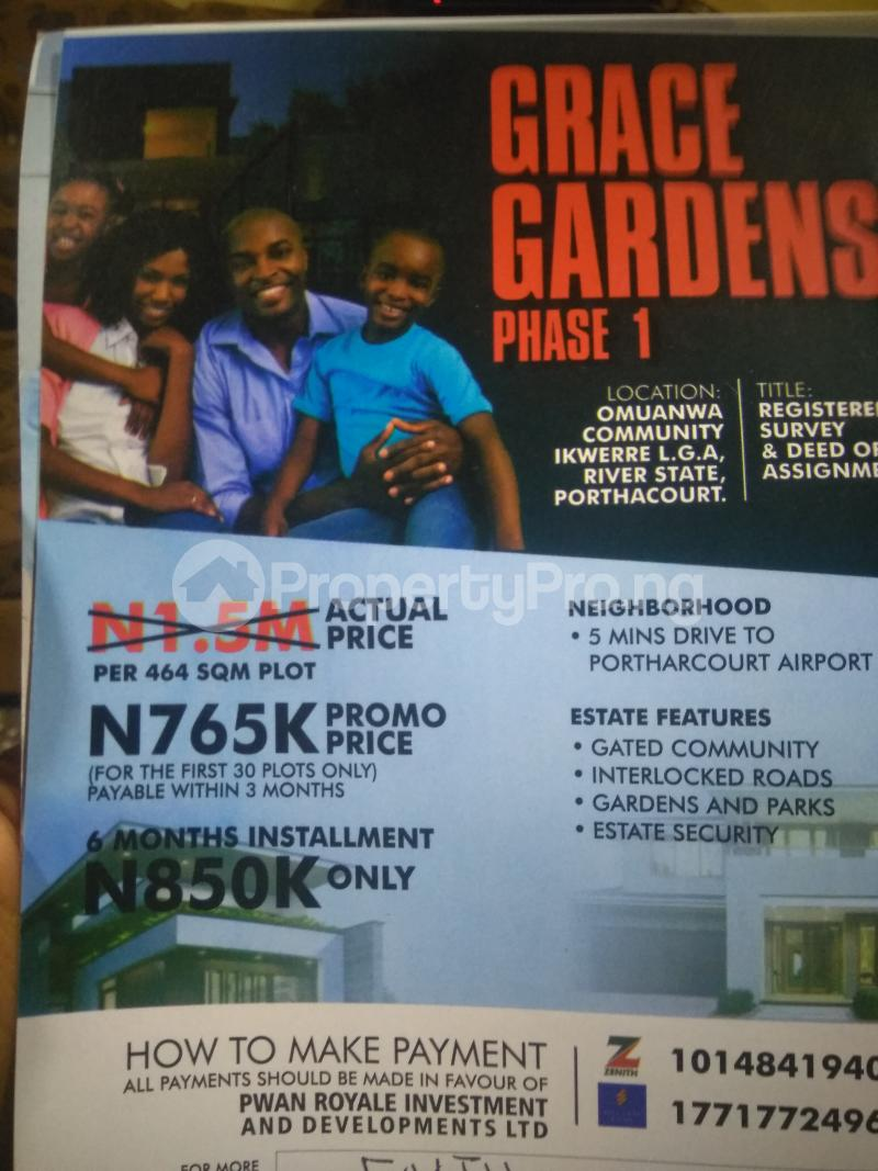 Mixed   Use Land Land for sale   Ikwerre Port Harcourt Rivers - 0