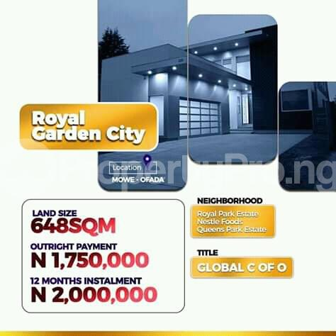 Mixed   Use Land Land for sale 5 Minutes drive from Nestle Food Plc. Mowe Obafemi Owode Ogun - 0