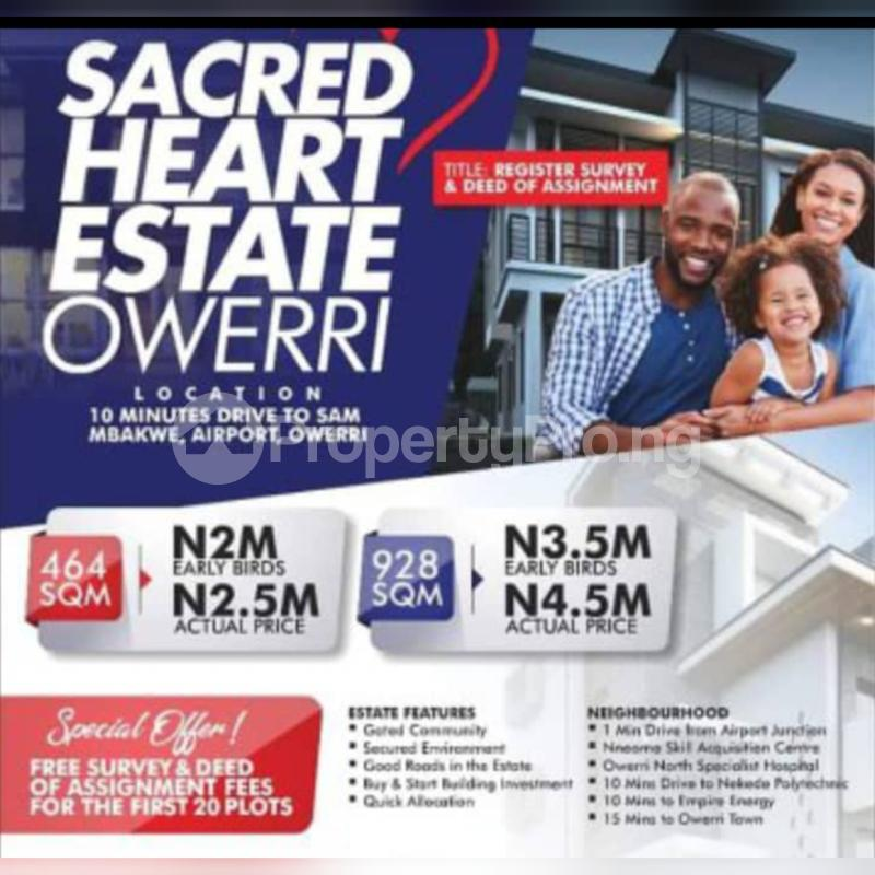 Land for rent Owerri Imo - 0