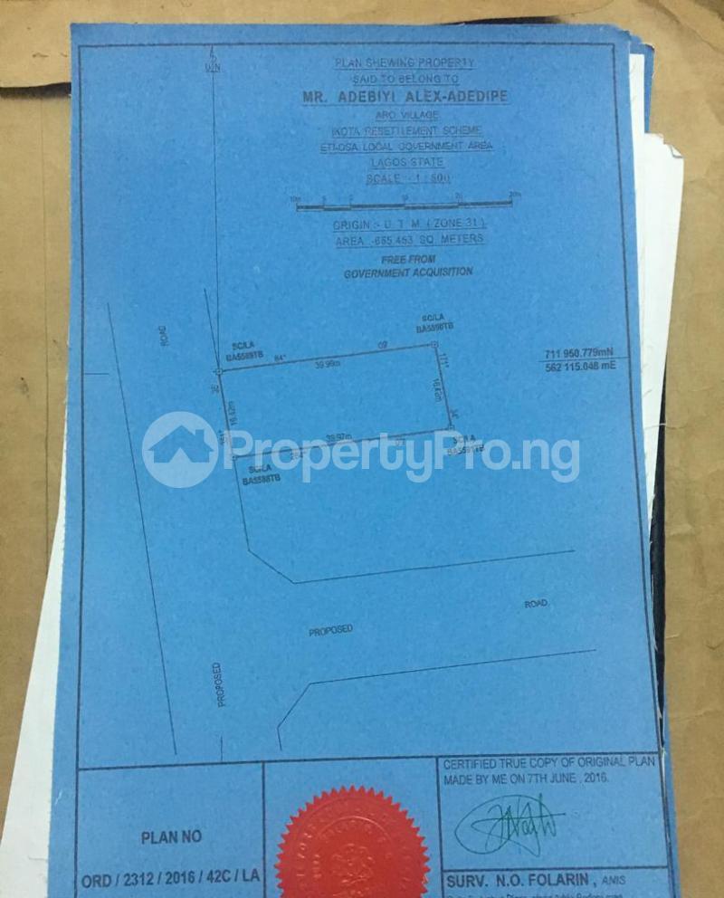 4 bedroom Residential Land Land for sale Off Mobil Road  Lekki Phase 2 Lekki Lagos - 0