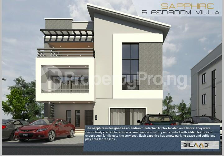 5 bedroom Detached Duplex House for sale Along the market road; Wuye Abuja - 9
