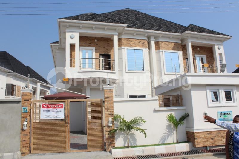 4 bedroom Semi Detached Duplex House for rent Chevron Drive chevron Lekki Lagos - 0