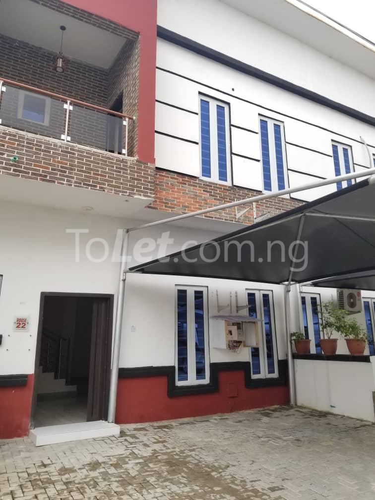 4 bedroom Terraced Duplex House for rent Orchid road chevron Lekki Lagos - 0