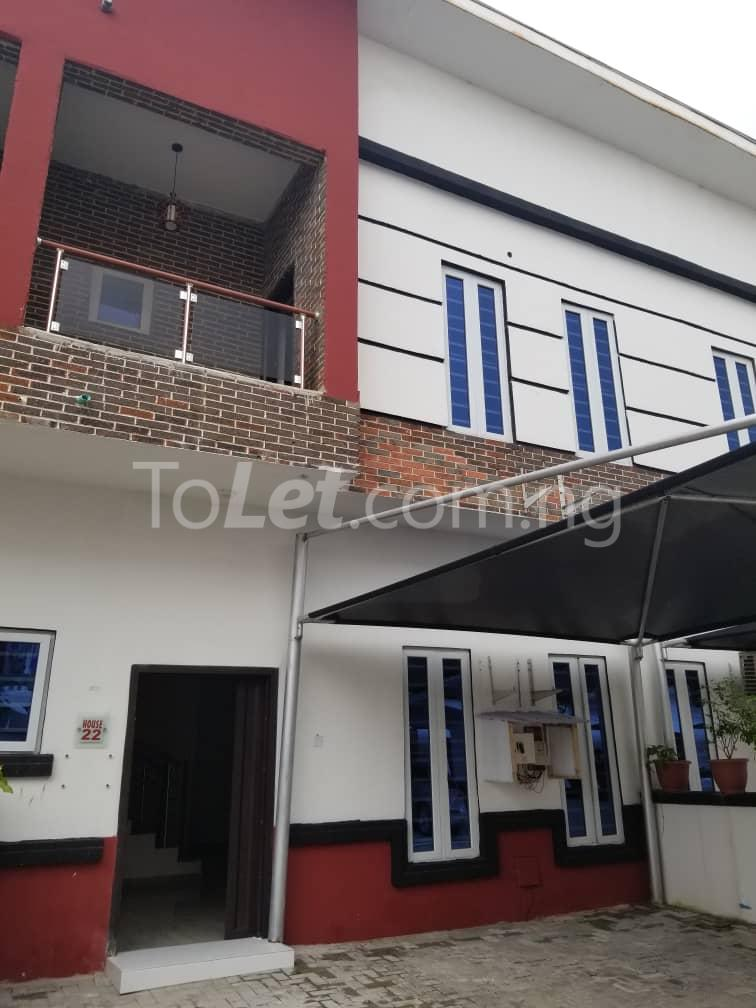4 bedroom Terraced Duplex House for rent Orchid road chevron Lekki Lagos - 1