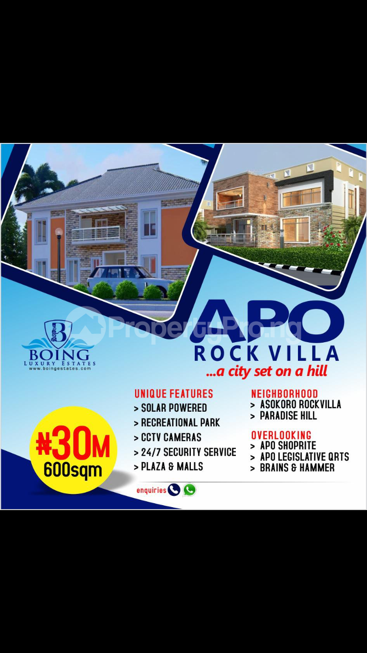 Serviced Residential Land Land for sale Apo Abuja - 0