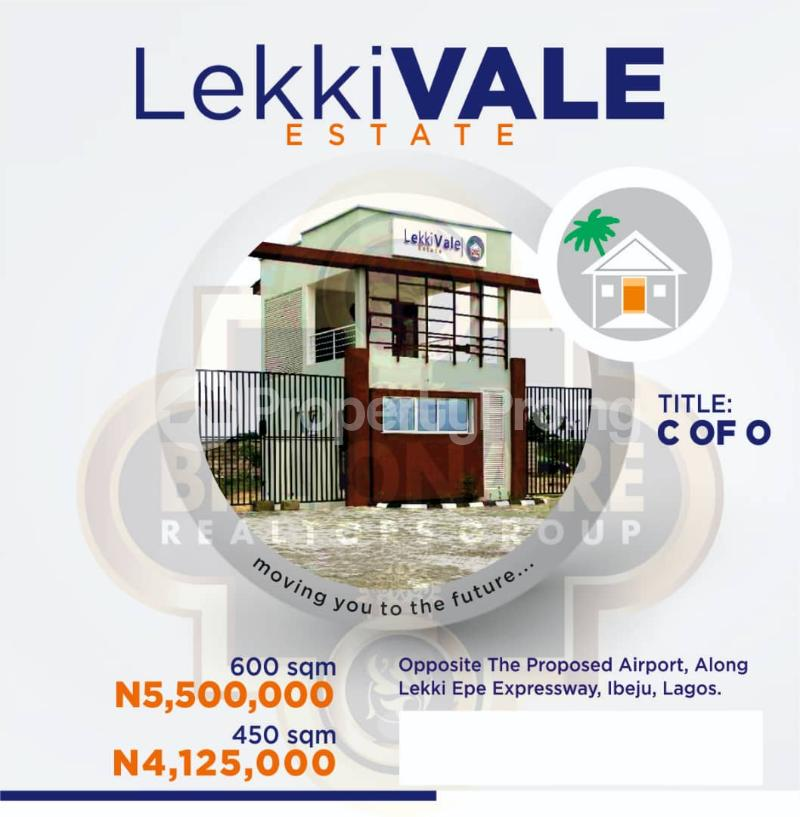 Serviced Residential Land Land for sale Opp. The new international airport Ibeju Lekki LaCampaigne Tropicana Ibeju-Lekki Lagos - 2
