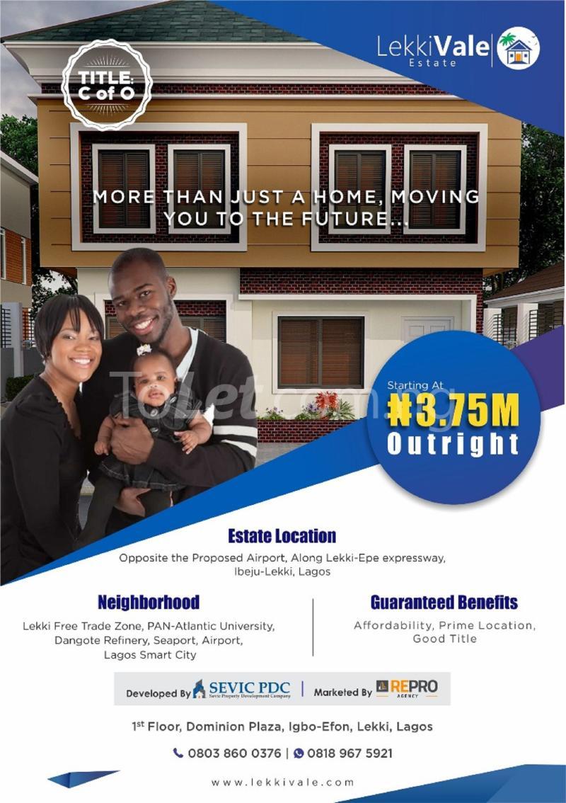 Land for sale Eleko Eleko Ibeju-Lekki Lagos - 3