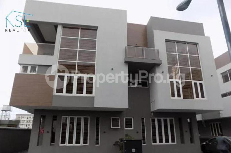 4 bedroom Semi Detached Duplex House for sale By Femi Okunu road Osapa london Lekki Lagos - 0