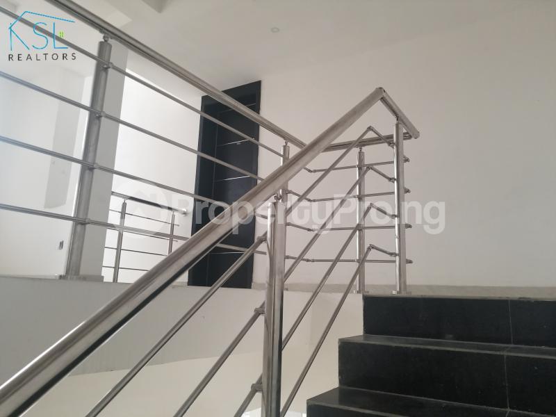 4 bedroom Semi Detached Duplex House for sale By Femi Okunu road Osapa london Lekki Lagos - 9