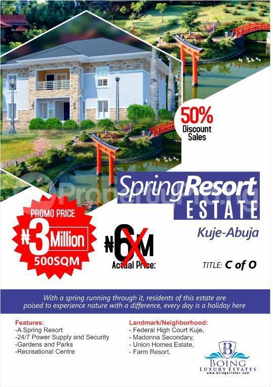Serviced Residential Land Land for sale Kuje - Abuja Kuje Abuja - 0