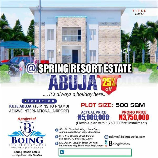 Mixed   Use Land Land for sale  15mins drive from Nnamdi Azikwe Airport Kuje Abuja - 0