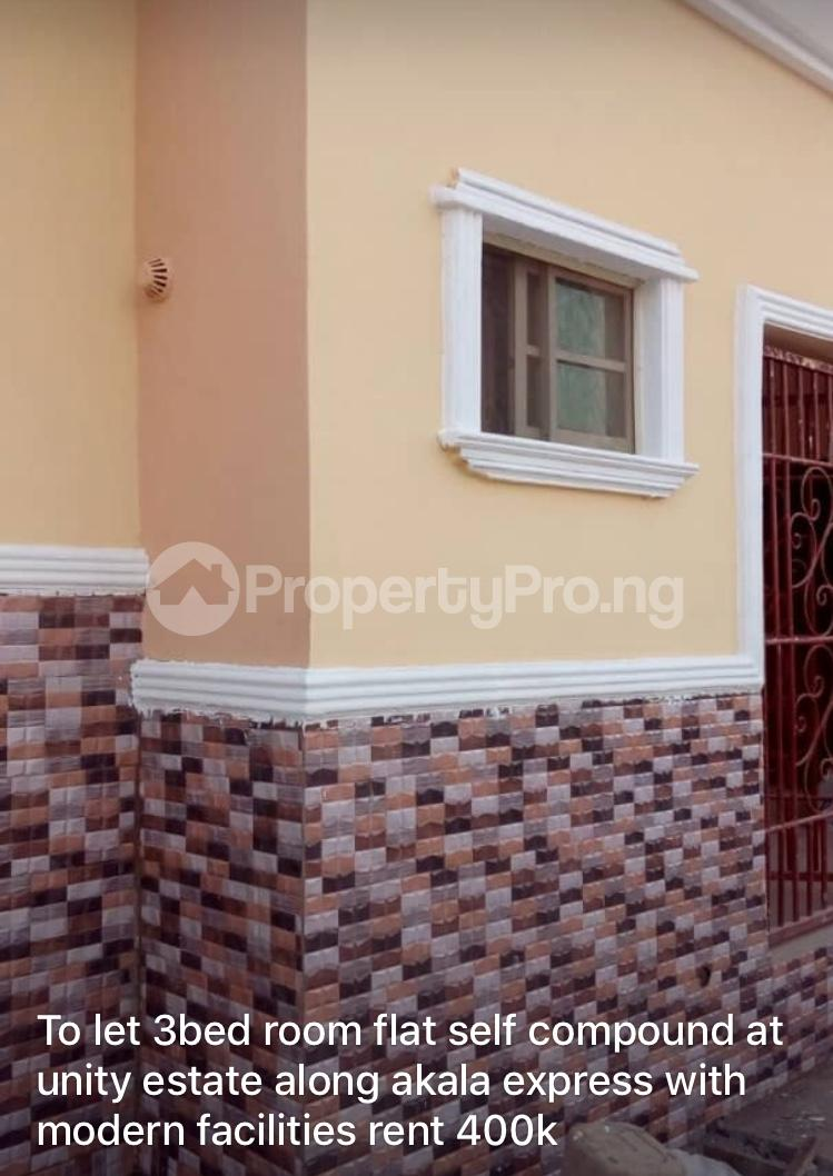 3 bedroom Detached Bungalow House for rent Unity estate  Akala Express Ibadan Oyo - 0