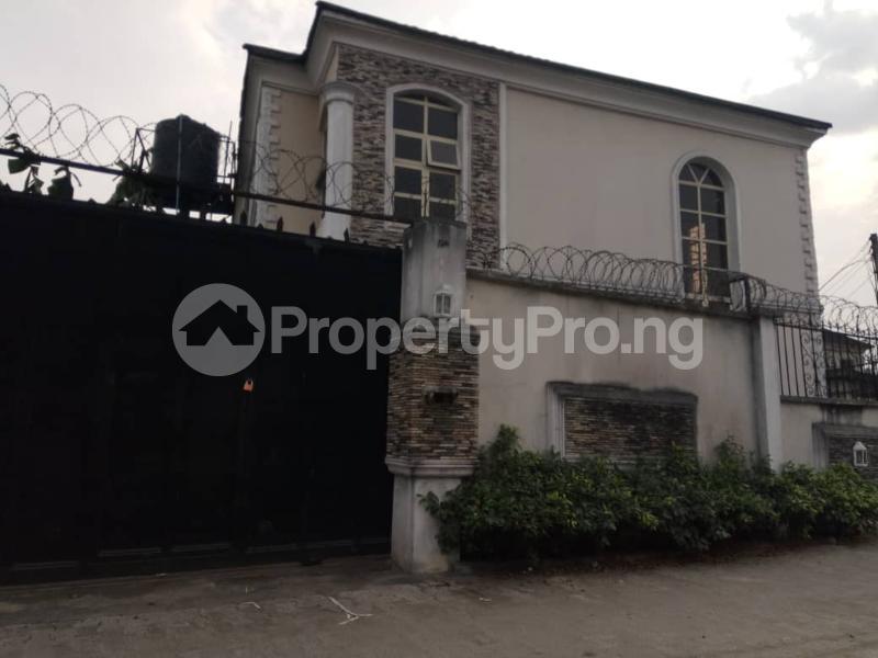 3 bedroom Detached Duplex House for rent Emmanuel street off Odili road Trans Amadi Port Harcourt Rivers - 1