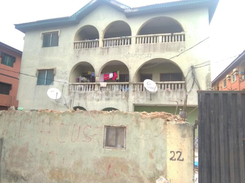 3 bedroom Studio Apartment Flat / Apartment for sale Ago Ago palace Okota Lagos - 0