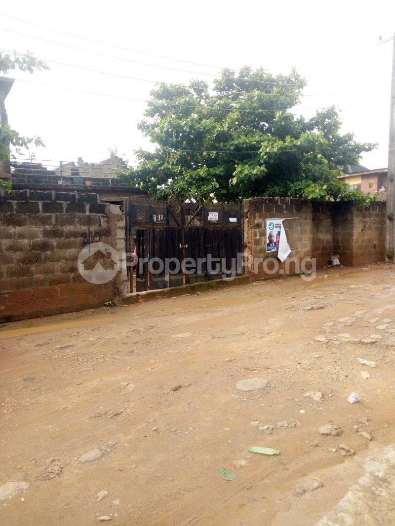 Residential Land Land for rent Egbeda close to bus stop Egbeda Alimosho Lagos - 0