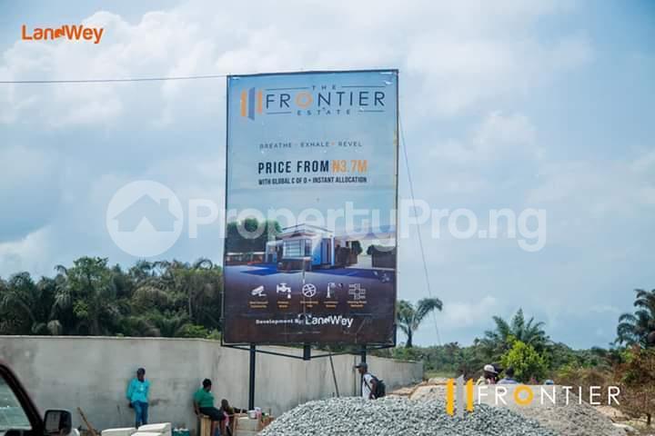 Land for sale Frontier Estate Lakowe Ajah Lagos - 2
