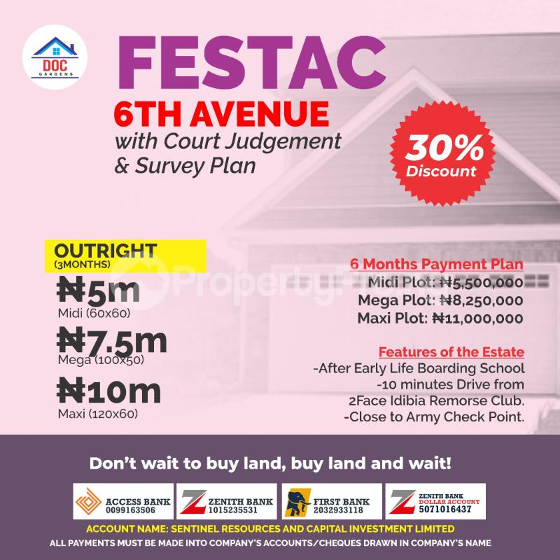 Residential Land Land for sale 6th Avenue  Festac Amuwo Odofin Lagos - 0