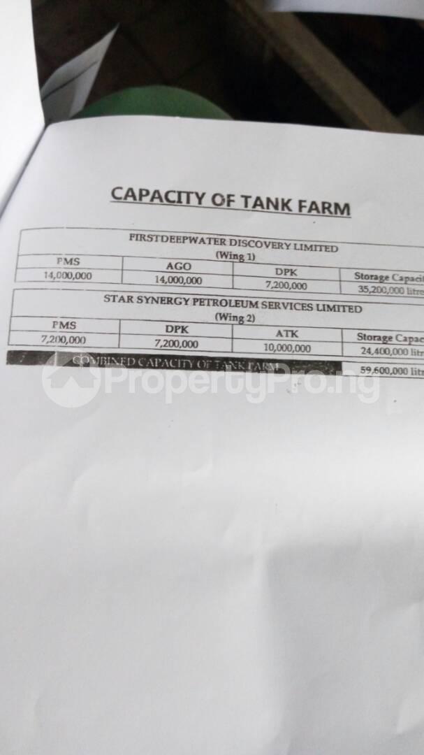 Tank Farm Commercial Property for sale Ijegun  Apapa Lagos - 5