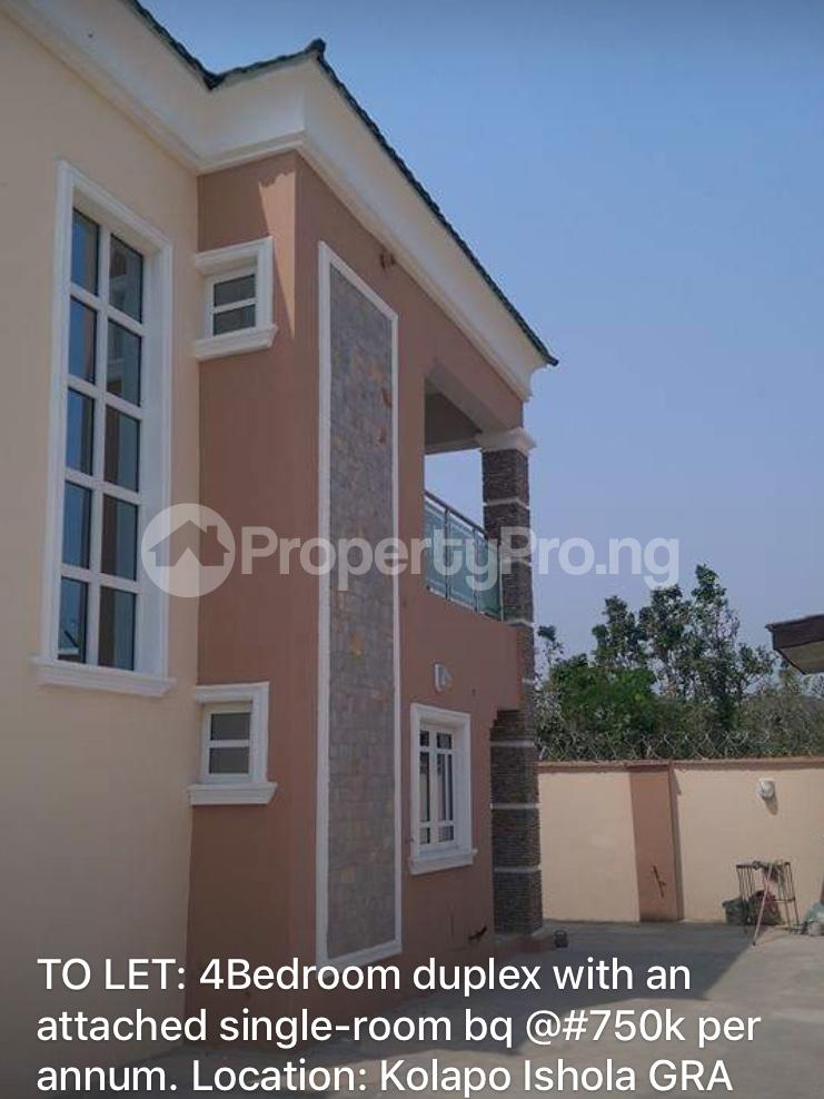 4 bedroom Semi Detached Bungalow House for rent Kolapo ishola gra  Akobo Ibadan Oyo - 1