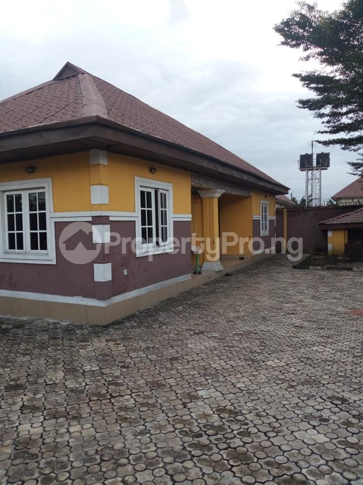 3 bedroom Detached Bungalow House for sale Queens park estate off rumuodara eneka road Obio-Akpor Rivers - 1