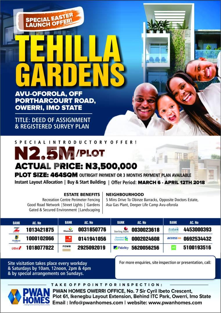 Mixed   Use Land Land for sale 5 minutes Drive to Obinze Barracks, Opposite Doctors Estate, Asa Gas Plan, Deeper Life Camp Avu-Oforola Owerri Imo - 0