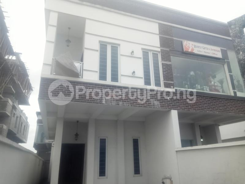 4 bedroom Semi Detached Duplex House for rent chevron Lekki Lagos - 0