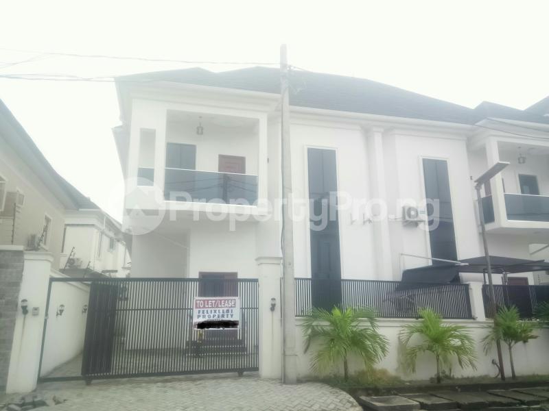 4 bedroom Semi Detached Duplex House for rent Osapa london Lekki Lagos - 9