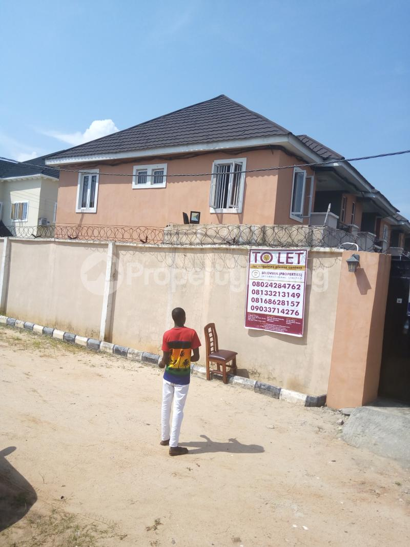 2 bedroom Self Contain Flat / Apartment for rent Divine Estate  Okun Ajah Ajah Lagos - 0