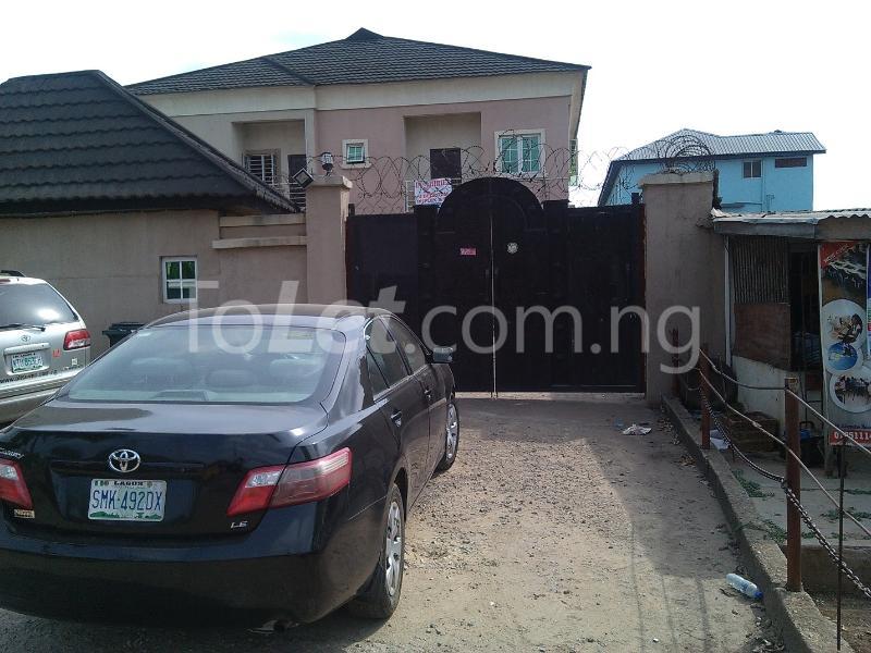 House for sale off alimosho road Iyana Ipaja Ipaja Lagos - 0