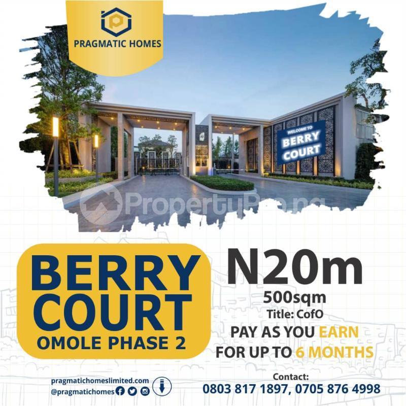 Residential Land Land for sale Omole Phase II Extension Sharing Boundary with Magodo Phase II Omole phase 2 Ojodu Lagos - 2
