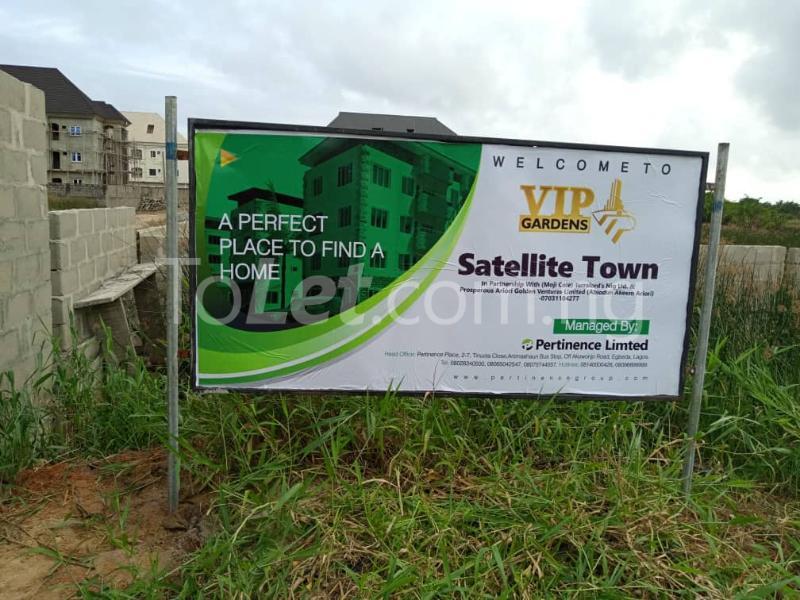 Mixed   Use Land Land for sale Satelite Town Satellite Town Amuwo Odofin Lagos - 0