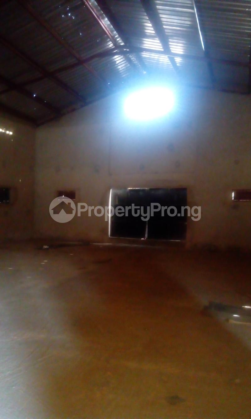 Warehouse Commercial Property for rent new garage Akala Express Ibadan Oyo - 4