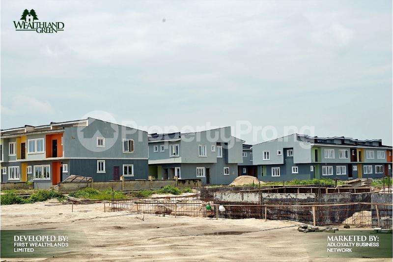 House for sale Oribanwa,Lekki Peninsula,Lagos.(1 min After Awoyaya) Awoyaya Ajah Lagos - 9