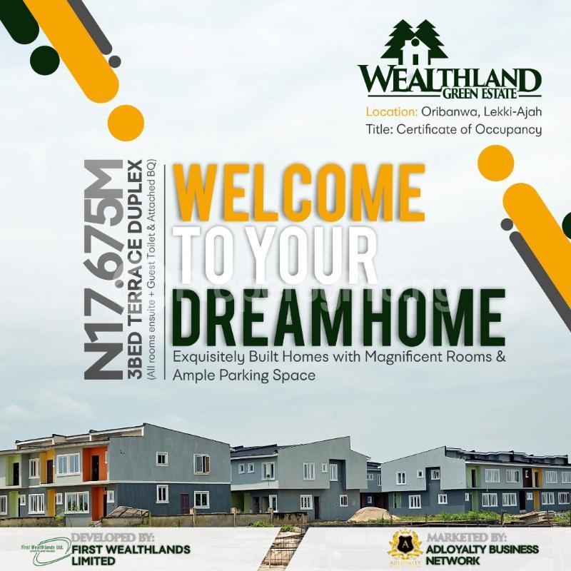 House for sale Oribanwa,Lekki Peninsula,Lagos.(1 min After Awoyaya) Awoyaya Ajah Lagos - 10