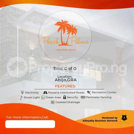 Land for sale Peach Palms Estate Abijo Ajah Lagos - 2